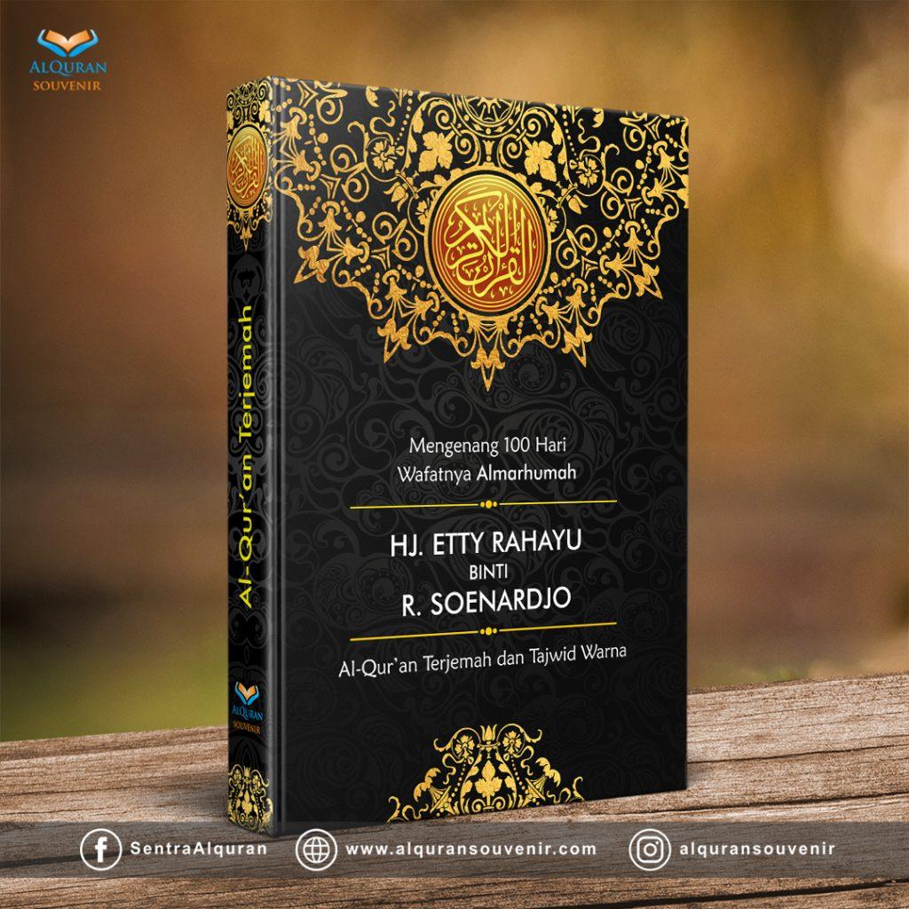 AlQuran Souvenir Custom Cover Mengenang 40 Hari