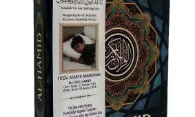 Pesanan AlQuran Al-Hamid 50 pcs untuk Souvenir Tahlilan 40 Hari