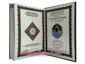 Al-Quran Souvenir Peringatan 1 Tahun Meninggal Al-Hamid Perkata 100 pcs