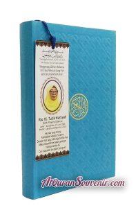Pesanan Custom Cover 100 pcs Al-Quran Souvenir Untuk Peringatan 100 Hari
