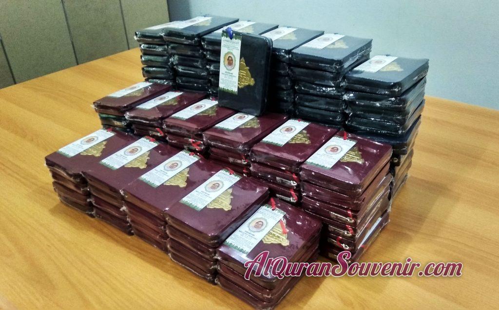 Pesanan 120 pcs Al-Quran Souvenir Untuk Peringatan 1000 Hari Cordova A6 Jaket