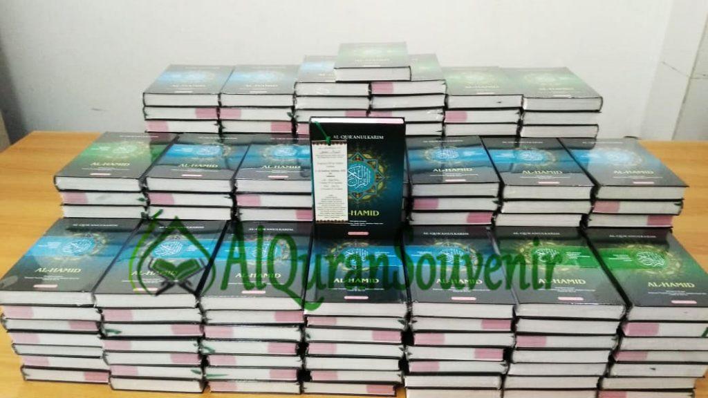 Pemesanan Al-Quran Al-Hamid Perkata 120 Pcs Quran Souvenir 1000 Hari