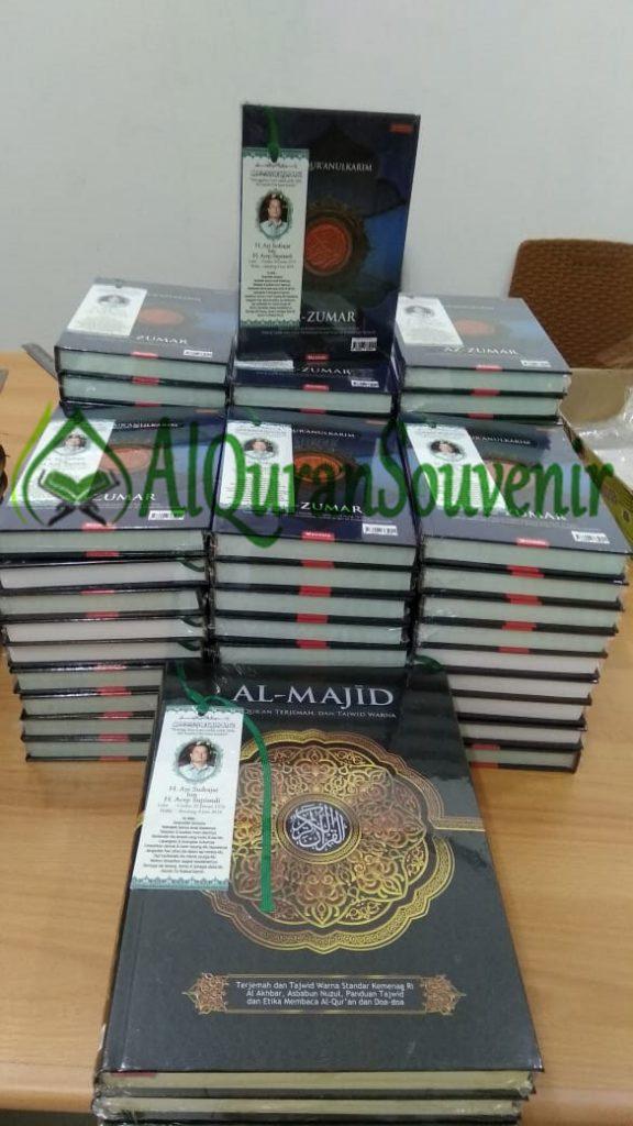 Pemesanan Al-Quran Souvenir 1000 Hari Orang Meninggal, Quran Az-Zumar A5 dan Al-Majid A4
