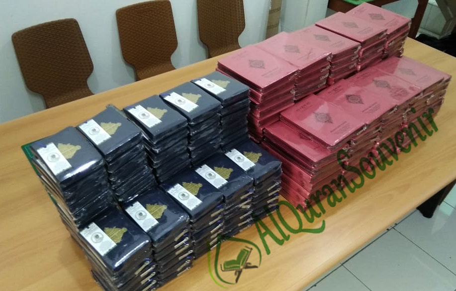 Al-Quran Souvenir 100 Hari Cordova A6 Jaket dan Zhafir A5 Jaket