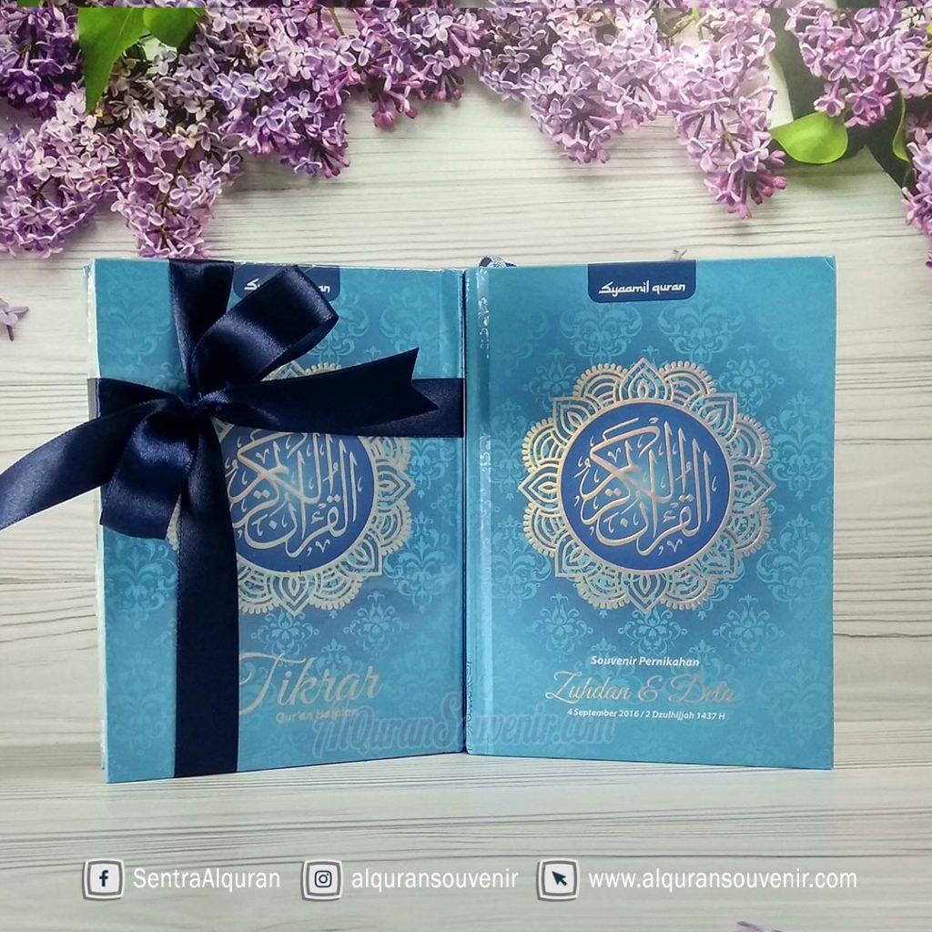 AlQuran Souvenir Nikah Customize Cover