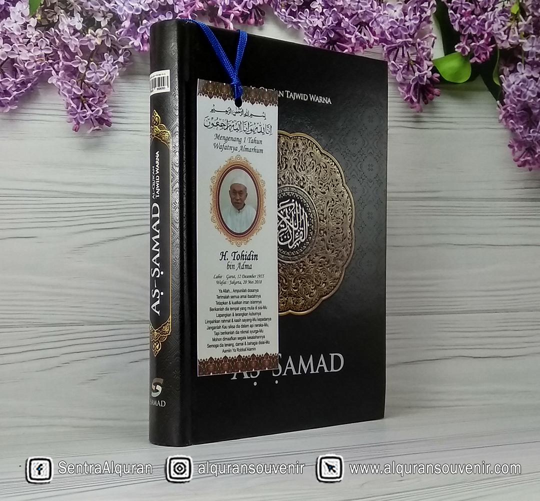 Al Quran Souvenir Plus Goodybag 100 pcs Mushaf Tajwid As-Samad A5